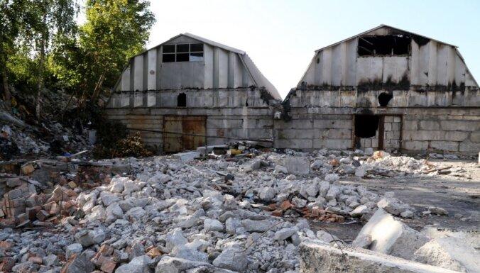 Для тушения многодневного пожара в Иманте используют новый подход
