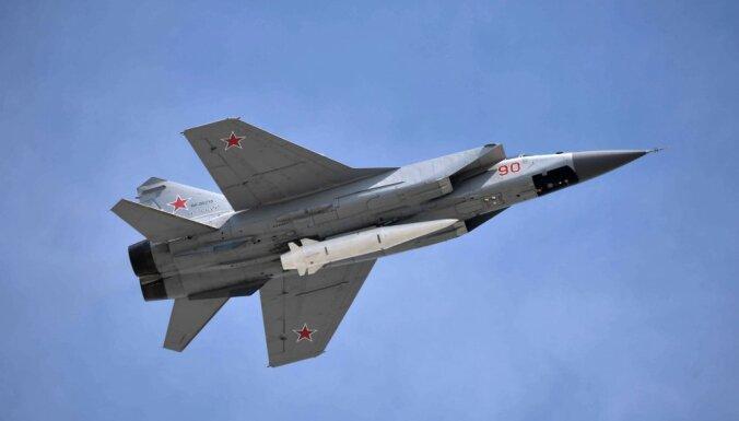 """СМИ: МиГ-31 и гиперзвуковой """"Кинжал"""" — лучшее средство для уничтожения авианосцев"""