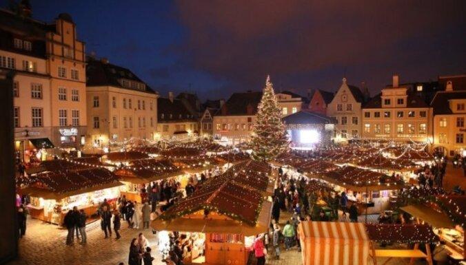 Уже сегодня! В Таллине открывается признанная лучшей в Европе рождественская ярмарка