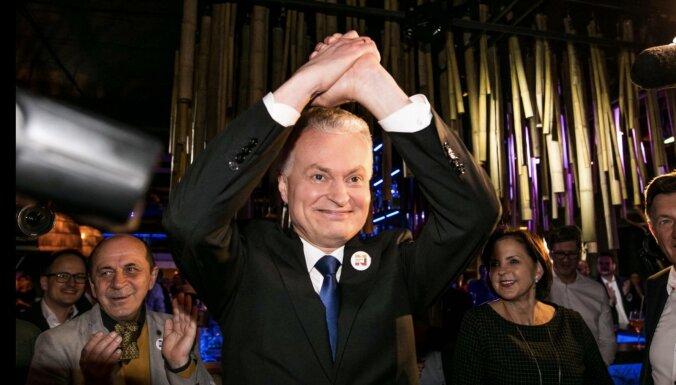 ФОТО: Сегодня проходит инаугурация нового президента Литвы Гитанаса Науседы
