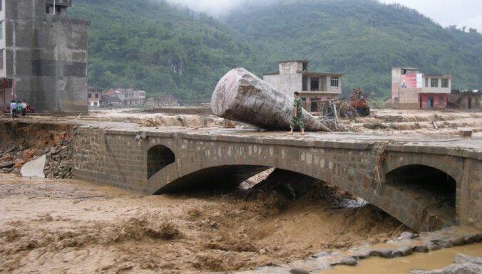 Китай страдает от наводнения после тяжелой засухи