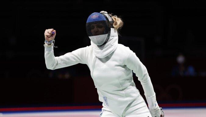 Эстония завоевала первую олимпийскую медаль в Токио: ее принесла шпажистка
