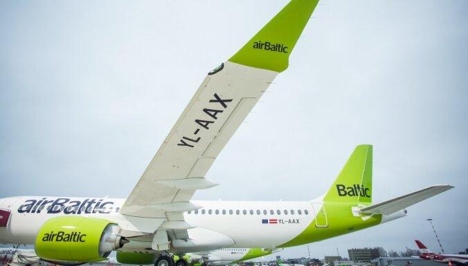 Очереди в аэропорту: airBaltic обещает внедрить электронную проверку документов, связанных с Covid-19