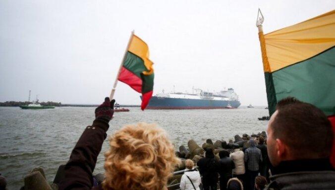 Министр: газ из Клайпеды для латвийских потребителей сейчас дороже российского