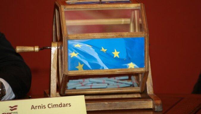 Партии распределили номера на выборах ЕП