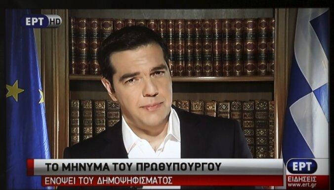 """Ципрас призвал греков отвергнуть """"шантаж"""" кредиторов"""
