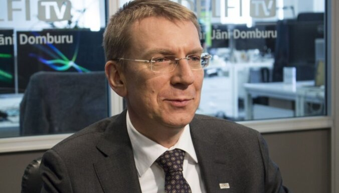 Rinkēvičam nav bažu par iespējamu Trampa un Putina sarunu negatīvu ietekmi uz Latviju
