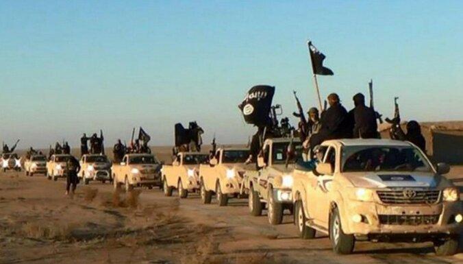 'Daesh' izvietotas mīnas Sīrijā nogalina 21 dumpinieku