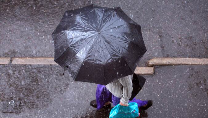 В пятницу местами пройдут дожди