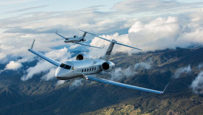 Rietumu профинансировал покупку бизнес-джета Gulfstream для своего клиента