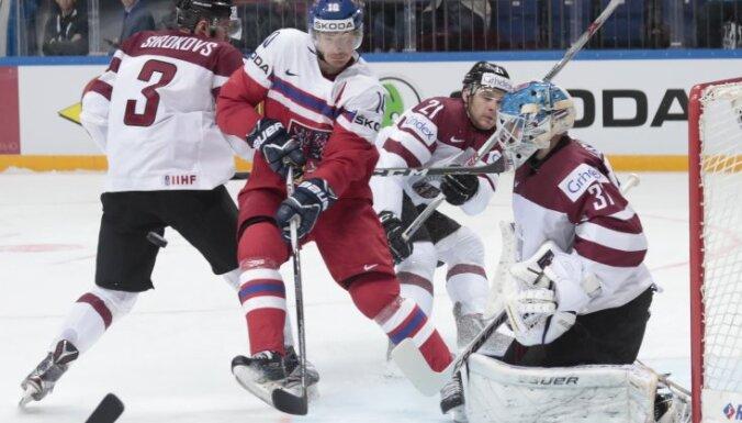 Чемпионат мира: Латвия была близка к победе над Чехией, но уступила по буллитам