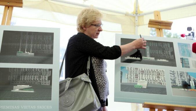 Biedrība 'Zolitūde 21.11' izvēlējusies traģēdijas piemiņas vietas ideju skici