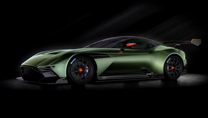 Ekstrēmais 'Aston Martin Vulcan' tikai 24 vienībās