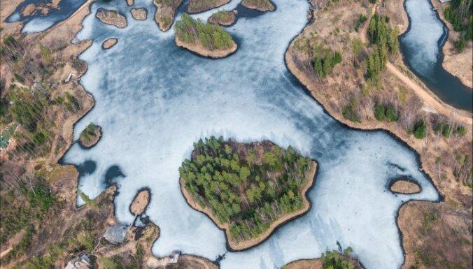 ФОТО: Волшебный узор природного полотна Аматциемса