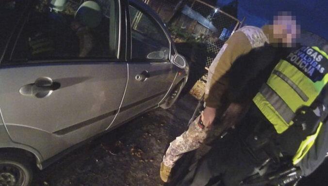 Военный помог задержать пьяного водителя, чуть не вызвавшего четыре аварии