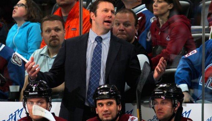 ASV hokeja izlasi PČ vadīs 'Avalanche' treneris Sako