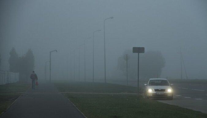Синоптики: в среду будет туман, на дорогах обледенение