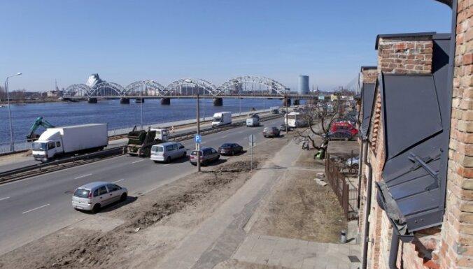 На ул. Краста в Риге начинается ремонт: с 25 сентября ограничат движение транспорта