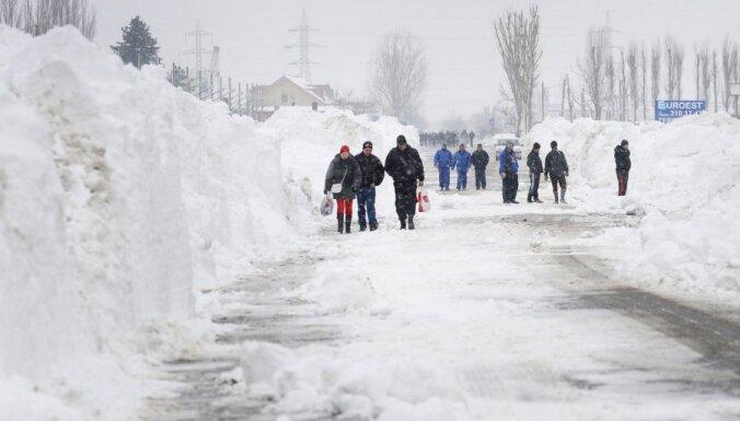 В Болгарии и Румынии снежная буря, есть жертвы