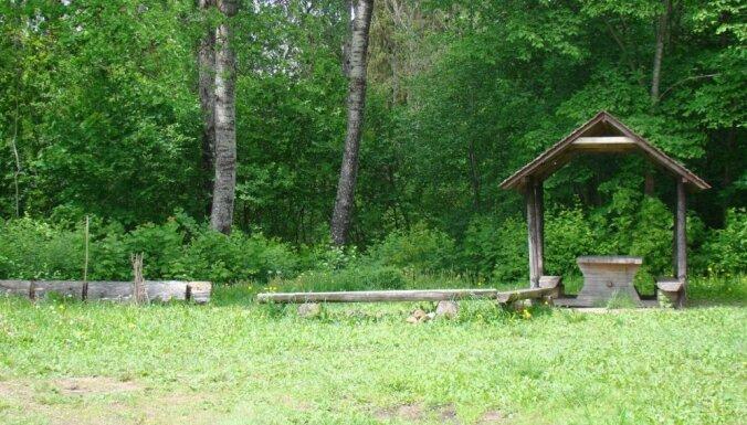 Daudas ūdenskritums, ko uzskata par trešo augstāko Latvijā