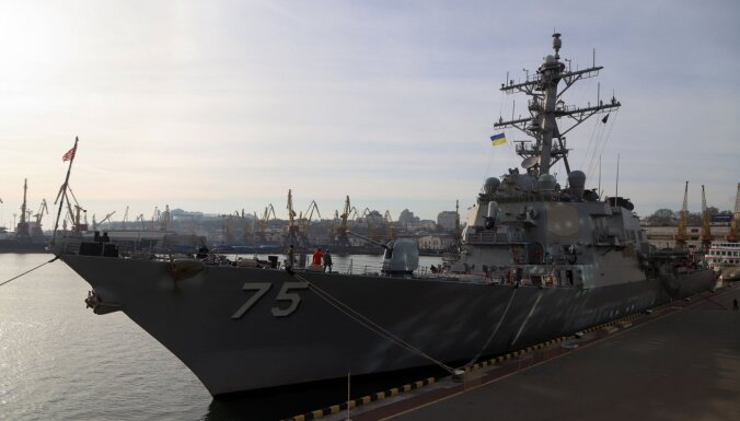 США направляют два корабля ВМС в Черное море