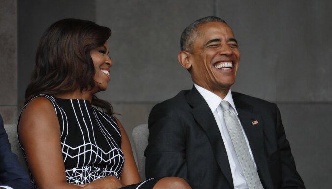 Mišela un Baraks Obamas – apbrīnotākie cilvēki pasaulē