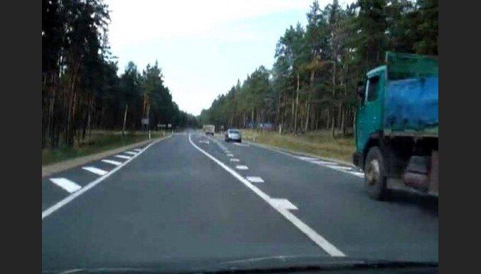 Pirmdien uz Latvijas ceļiem cietuši 16 cilvēki