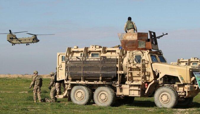 Irākā dislocēti 3500 ASV karavīru, atklāj Pentagons