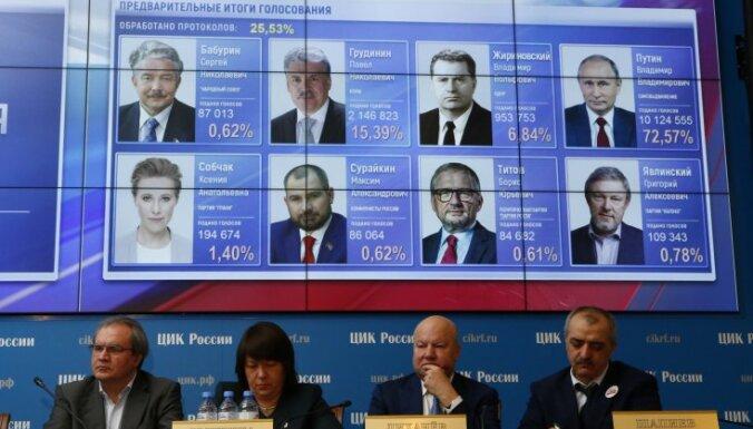 Пять главных вещей о выборах президента РФ: Путин установил рекорд по голосам