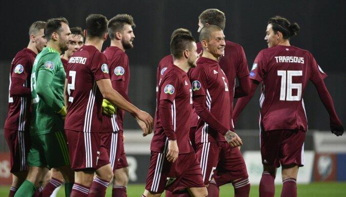 Latvijas futbola izlase aizvadīs maču Sāmsalā