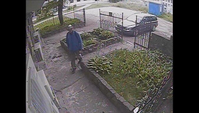 Полиция просит опознать подозреваемого в имущественном преступлении
