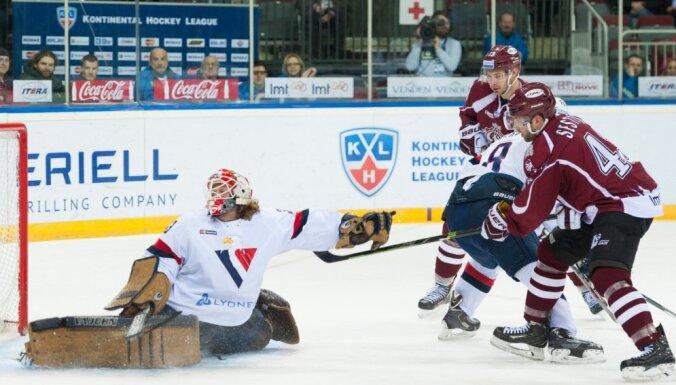 ВИДЕО: Динамовцы Риги обыграли хоккеистов, не видавших зарплаты с июля