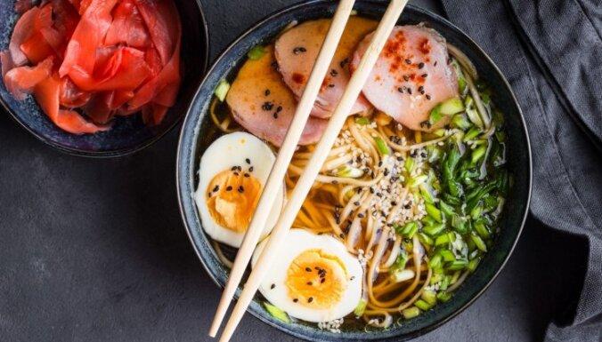 Japāņu rāmen zupa