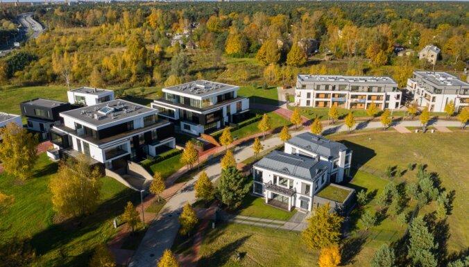 ФОТО: Mežaparka Rezidences сдает в эксплуатацию жилой комплекс стоимостью 10 млн евро