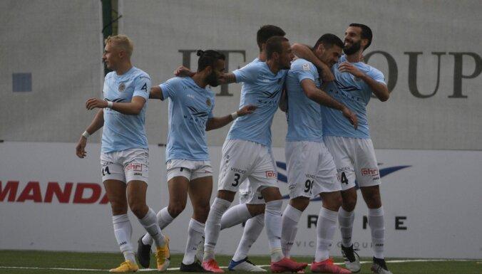 'Riga' futbolisti sagrauj novājināto 'Noah Jurmala'