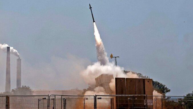 No Gazas joslas uz Izraēlu izšautas 1500 raķetes