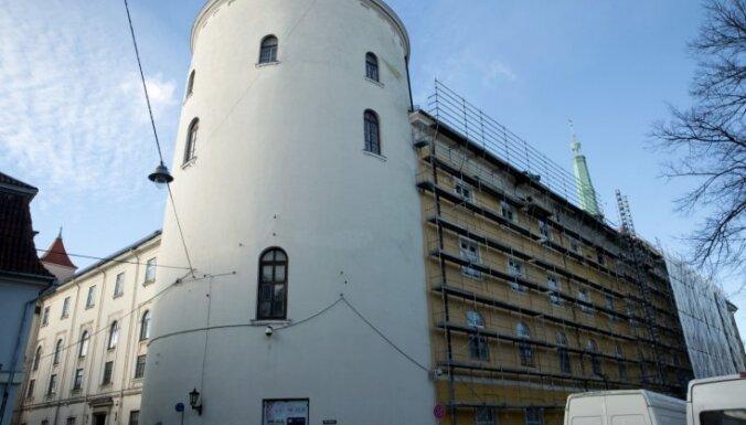Iekavējies Rīgas pils konventa restaurācijas sākums