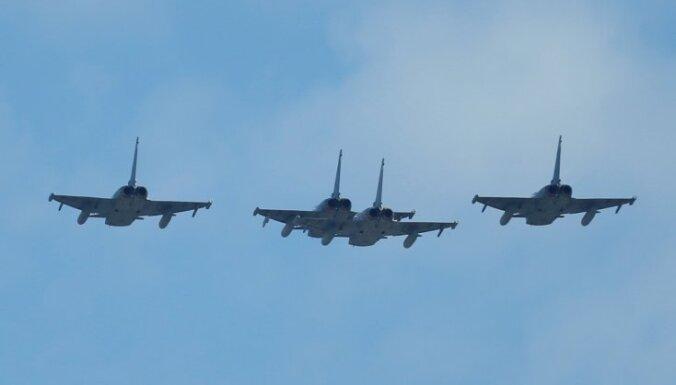Истребители союзников проведут тренировочные полеты над Эстонией