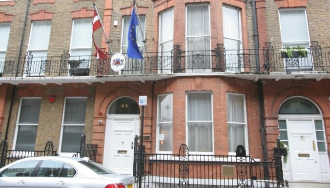 ĀM saskaņā ar premjera rezolūciju meklē jaunu ēku vēstniecībai Londonā