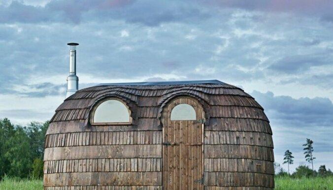 Дэвид Бекхэм выставил фото со своей эстонской сауной