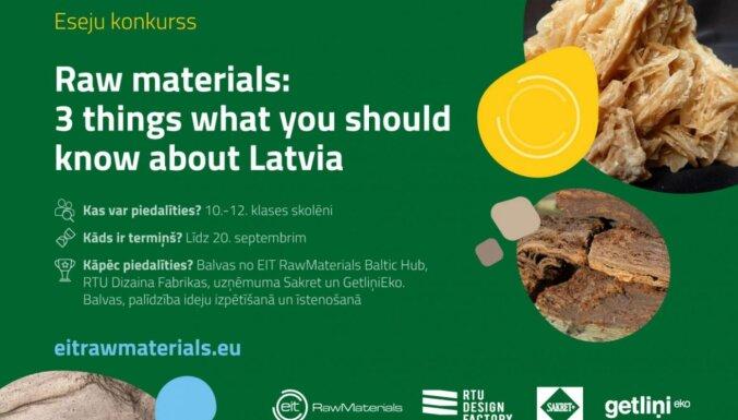 RTU aicina vidusskolēnus piedalīties eseju konkursā par Latvijas dabas bagātībām