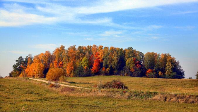 Октябрь этого года в Латвии стал вторым самым теплым за всю историю наблюдений