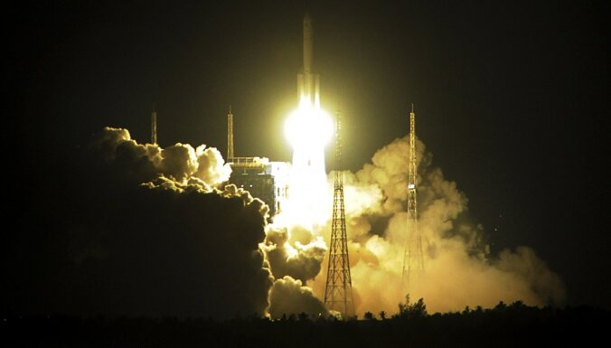 Ķīna veiksmīgi palaidusi orbītā spēcīgāko valsts kosmisko raķeti