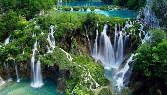 Ūdens milzu spēks un skaistums. Pasaules lielākie un neparastākie ūdenskritumi