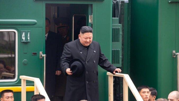 Путин и Ким Чен Ын проводят переговоры во Владивостоке