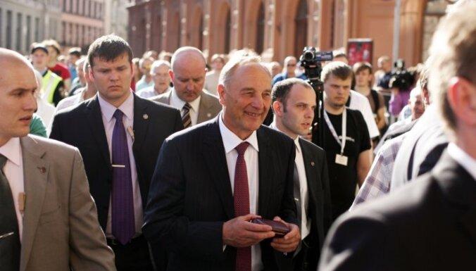 Bērziņš kļūs par Latvijas Valsts prezidentu