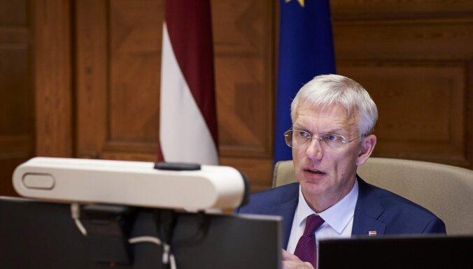 Кариньш: заседания правительства для обсуждения вопросов по Covid-19 станут открытыми