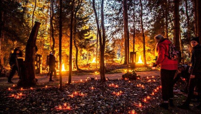 3. oktobrī Vienkoču parkā notiks gadskārtējā Uguns nakts