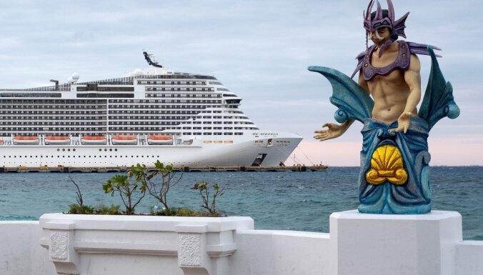 ВИДЕО. На круизном лайнере из-за коронавируса произошла массовая драка