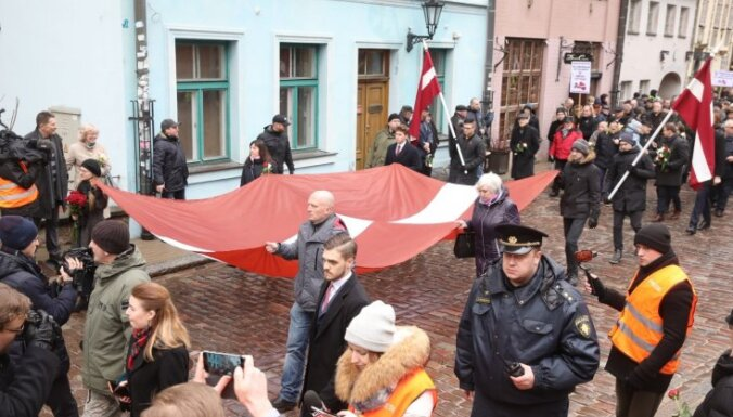 """Посольство России о марше памяти легионеров в Риге: """"Это позор"""""""